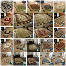 CLASSIC ORIENTAL TRADITIONAL - SMALL TO EXTRA LARGE THICK HERITAGE SINCERITY RUG