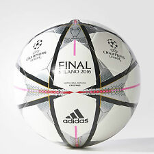 Adidas Champions League 2016 Milano Milan Finale Capitano Football  White Silver
