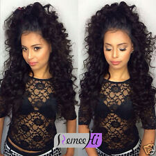 Hot selling Human Hair Wigs For Black Women Brazilian hair lacewig halo black