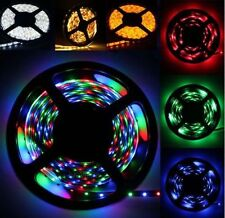 Car Boat Accent Decor Waterproof 16ft 5M 3528 SMD 300 LED Strip Light Flexible