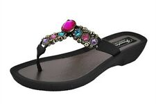 Grandco Women's Fancy Thong Sandals