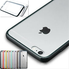New Transparent Hard Back Soft Gel Bumper Case Cover For iPhone Apple 6s plus 7