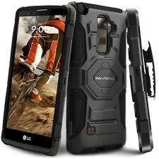 Evocel® LG G Stylo 2 Rugged Holster Case with Kickstand & Belt Swivel Clip