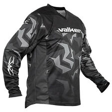 Valken Crusade Riot Paintball Jersey - Grey