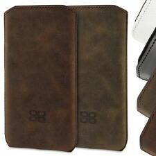 Apple iPhone 5S 5 Case REAL LEATHER Pouch Case Skin Cover Bouletta Optimum