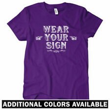 Wear Your Sign Women's T-shirt S-2X - Funny Comedy Silly Stupid Dumb Humor Fun