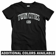 Twin Cities Kids T-shirt - Baby Toddler Youth Tee - Minneapolis St Paul MN Twins