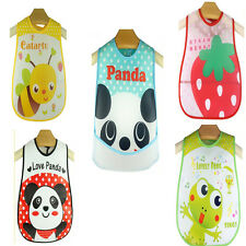 Saliva Towel  Bib Bibs Girl Waterproof  Kids Baby Cartoon Transparent Soft Boy