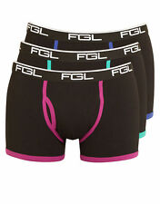 FGL Mens Colour Real 3 Pack Trunk