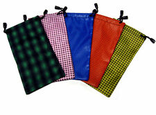 100 Draw-string Eyeglasses Pouches in Assorted Colors _ Wholesale Price