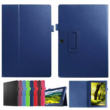 """Folio Leather Case Stand Cover For 10.1"""" Acer Iconia Tab 10 A3-A30 Tablet PC New"""