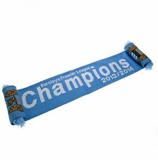 Manchester City FC Champions Scarf Football Soccer EPL