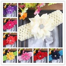 Hot Toddler Baby Girl Infant Flower Headband Hair Band Headwear Hair Accessories