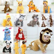 Baby Boy Girl Animal Fancy Dress Party Costume Outfit Clothes Size 00 0 1 2