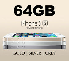 Like NEW Apple iPhone 5s 64GB 4G LTE GSM 3 COLORS Smartphone 100% Unlocked MR