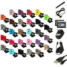 For Amazon Kindle Fire HDX 7 7.0 2013 Case Cover 360 Pouch+Charger Accessories