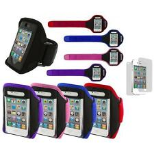 Color Running Sports Gym ArmBand+Screen Protector for iPhone 4 4G 4S 3GS 3G