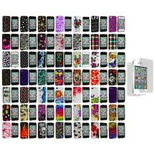 Design Color Hard Snap-On Case Cover+Screen Protector for iPhone 4 4G 4S