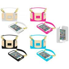 Silicone Handbag Handle Pouch Cover Case+Screen Protector for iPhone 4 4G 4S