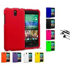For HTC Desire 610 Hard Matte Protector Case Cover Accessory Earphone Mic