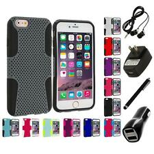 For Apple iPhone 6 Plus (5.5) Hybrid Mesh Shockproof Case Cover 4X Accessories