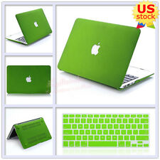 """2in1 Quicksand Green Matte Hard Case+Keyboard Cover for MacBook Air Pro 11""""/13"""""""