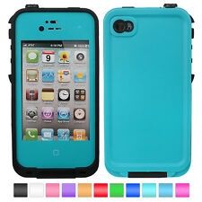 Waterproof Shockproof Dirt Proof Durable Case Cover For Apple iPhone 4 4S NS