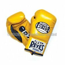 Cleto Reyes Traditional Contest Boxing Gloves - Yellow