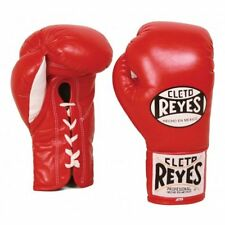 Cleto Reyes Traditional Contest Boxing Gloves - Red