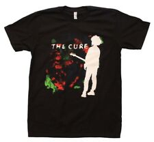 The Cure Boys Don't Cry Men's Black Cotton T-Shirt Gothic Punk Rock Music Band