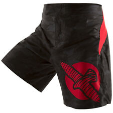 New Genuine Hayabusa Weld3 MMA UFC Boxing Fight Shorts Black