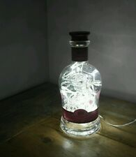 Upcycled Modern Cool Dewar's Whisky Bottle Lamp - by iluvlamp