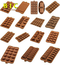 DIY Chocolate Muffin Jelly Baking Candy Cupcake Silicone Mould Baking Mold Tray