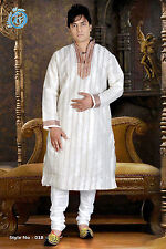Men's Ethnic Indian Designer Kurta 2pc Suit.