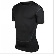Men's Sport Compression Armour Thermal Base Layer Gear Under Shirt Top Skins F93