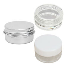 15PCS Cosmetic Empty Jar Eyeshadow Face Cream Lip Balm Container WD