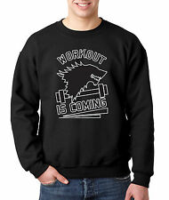 New Way 405 - Crewneck Sweatshirt Workout Is Coming Game Of Thrones Winter Stark