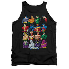 BATMAN BB CAST OF CHARACTERS Licensed Men's Graphic Tank Top Sleeveless SM-2XL