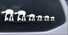 Star Wars AT AT Stick Figure Family Four Kids Car Truck Window Decal Sticker