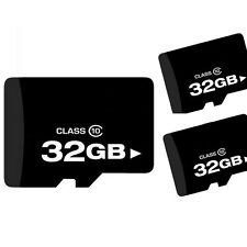 32GB Micro SD SDHC TF Memory Card Class 10 w/ SD Adapter for Smart Phones Tablet