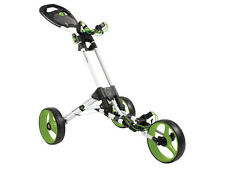 Masters Golf - iCart One 3 Wheel Golf Trolley One Click Compact + FREE Delivery