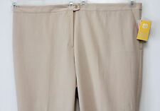 "Plus Size 34 Petite Dress Pants Catherines Right Fit Maggie Barnes NEW 56"" x 28"""