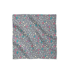 Only Happy When It Rains Satin Style Scarf - Bandana in 3 sizes