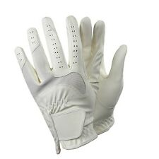New Vented Equestrian Riding Gloves large dressage tack english show grip equine