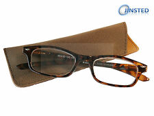 High Quality Leopard Print Swiss Reading Glasses Spectacles Long Sighted RG023