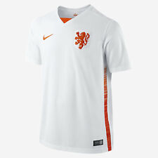 NETHERLANDS HOLLAND 2XL AWAY 2014/15 S/S WHITE NIKE FOOTBALL SOCCER SHIRT JERSEY