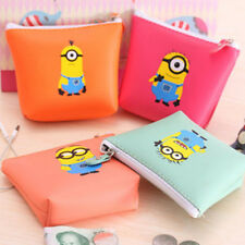 DESPICABLE ME MINION Zip Coin Purse childrens 4 designs party bags NEW