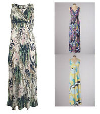 Boden Jersey Maxi Dress Yellow Blue Ivory Size 8 10 12 14 16 18 Reg Tall Petite