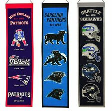 """Heritage 32"""" Banner Embroidered Wool Pennant   * Pick Your Team *"""