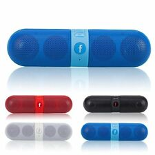Portable Bluetooth Wireless FM Stereo Speaker For Smartphone Tablet